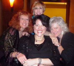 Karen Drucker, KTG, Stowe and Ann Pogue at the 7th Annual Posi Awards in January 2013